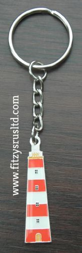 Lighthouse Metal Keyring Key Ring Gift Souvenir